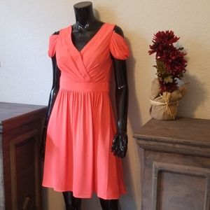 Beautiful orange A-line dress
